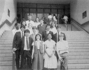 1985 Joint Schools' Debating Contest Team
