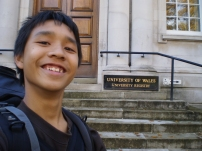Me @ University of Wales Registar Office