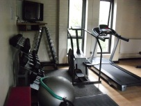 New Gym - RUnning Machine and Free Weights