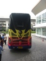 Our bus to the opening ceremony