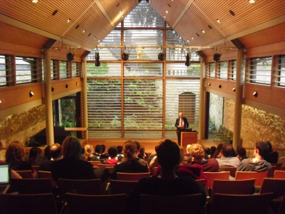 The Shulman Auditorium at The Queen's College