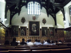 Ongoing Grand Final at Middle Temple Hall